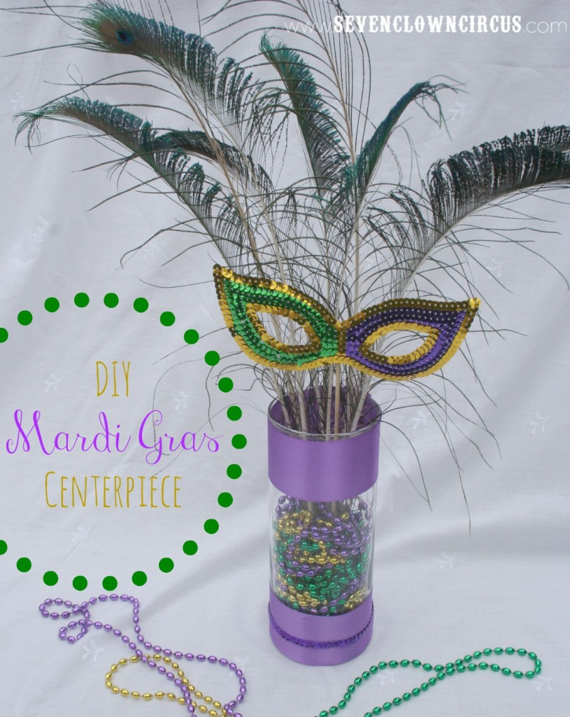 9 Easy DIY Mardi Gras Centerpieces