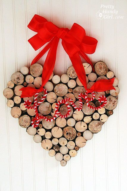 valentine wreaths for your front door5 Simple DIY Valentines Day Wreaths  Heather Roberts