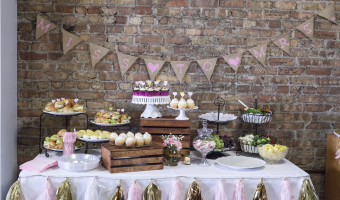 Shabby Chic Vintage Wedding Shower